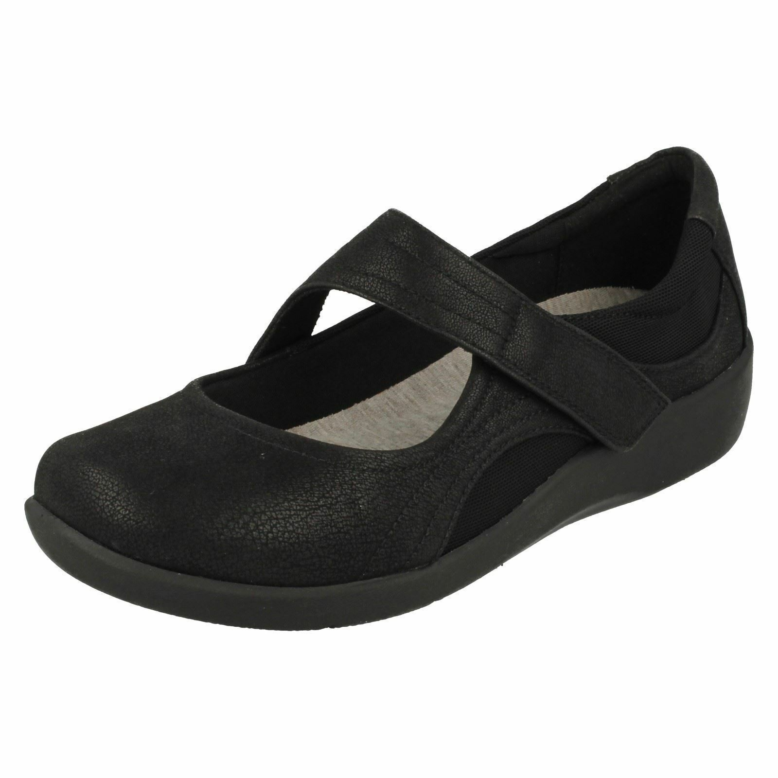 Clarks Sillian BELLA DONNA CLOUD passo-passo Largo E Fit Scarpa