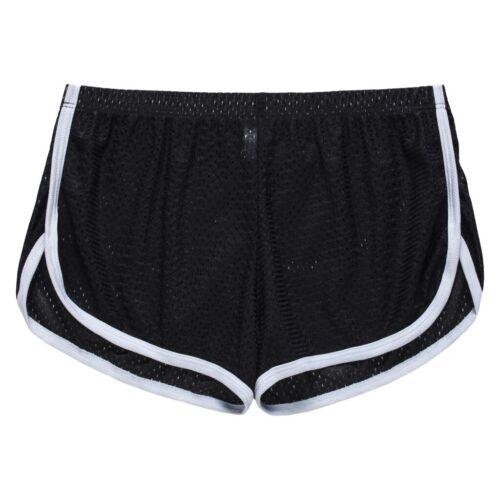 Mens Breathable Slim Fit Boxers Stretch Swimwear Trunks Comfy Mesh Underwear