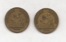1924 & 1925 FRENCH 2 FRANCS COINS