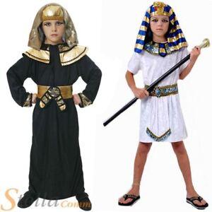 Image is loading Kids-Boys-Pharaoh-Egyptian-King-Book-Week-Historic-  sc 1 st  eBay & Kids Boys Pharaoh Egyptian King Book Week Historic Fancy Dress ...