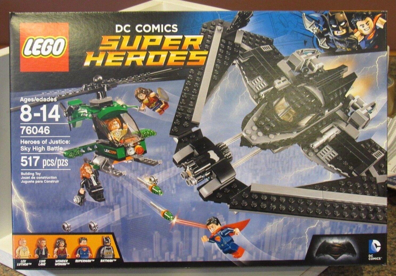 LEGO 76046 DC Comics Super Heroes of Justice Sky High Battle Superman Batman WW
