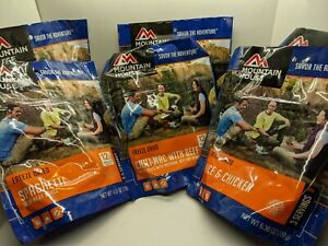Mountain House Freeze Dried Emergency Food Variety Pack 6 Pouches 16 Servings