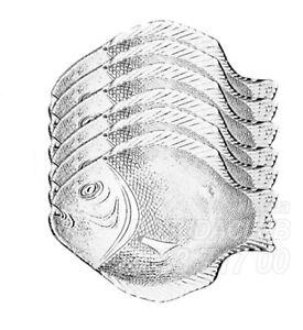 pasabahce-fish-serving-platter-glass-medium-plate-6pc-set-food-tray-10x8-5-034