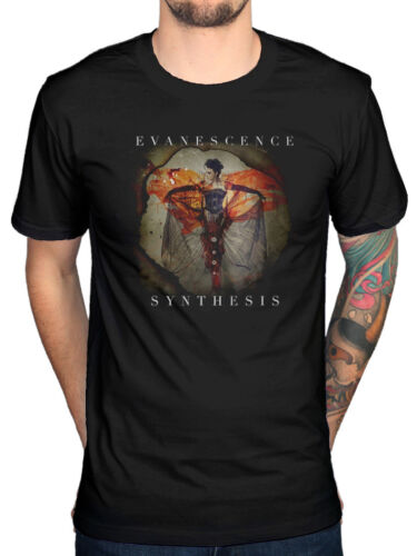 Official Evanesence Synthesis Album T-Shirt The Open Door Lost Whispers Mystary