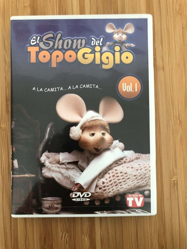 El show del Topo Gigio, DVD, animation
