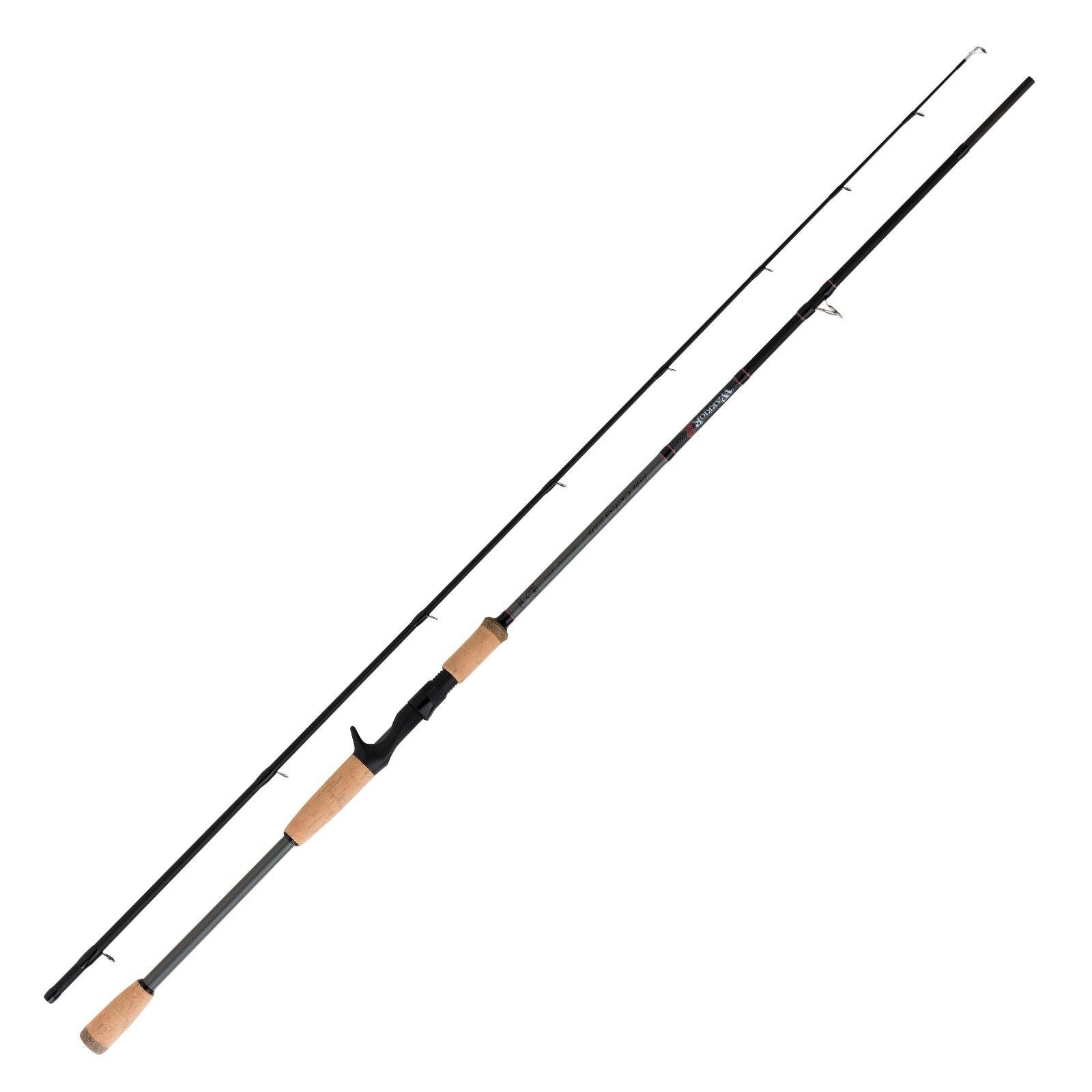 Fox Rage canna da pesca baitcastrute-Warrior 2 Pike Casting Rod 2,25m 20-80g 2 parte