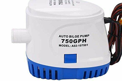 12v 750gph Marine Boat Automatic Submersible Bilge Water Pump with Float Switch