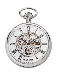 REGENT-P-561-SKELETON-BOX-kette-epna-ura-pocket-watch-Taschenuhr
