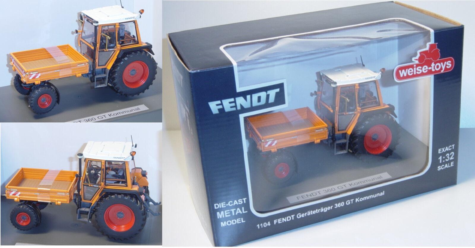 Manière-TOYS 1104 Fendt périphériques disque 360 GT communales, 1 32
