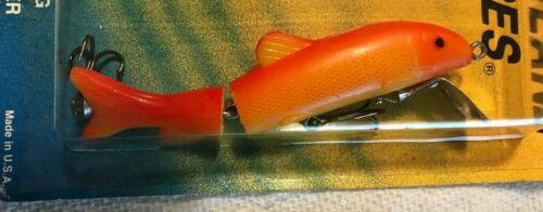 Minn/'er        Gold Fluorescent Red Vintage     Fran-lane  Jointed   Winn/'er