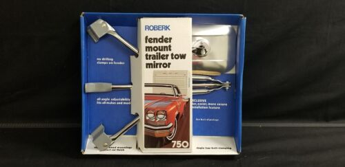 ROBERK Fender Mount Trailer Tow Mirror 750