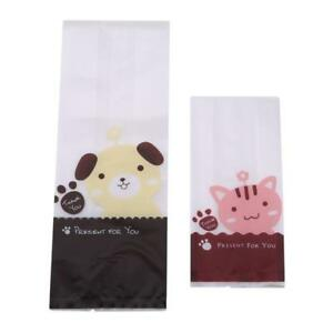 50pcs-Cat-amp-Dog-Cute-Cookie-Biscuit-Plastic-Gift-Bags-Sweet-Candy-Self-adhesive-BL