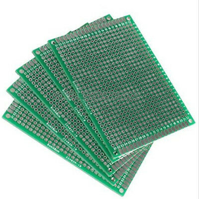 6x8cm Double-side Protoboard Circuit Universal Diy Prototype Pcb Board Ebau Do You Want To Buy Some Chinese Native Produce? Electronic Components & Semiconductors