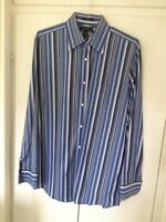 EXPRESS Striped Multi Color Shirt Men's L