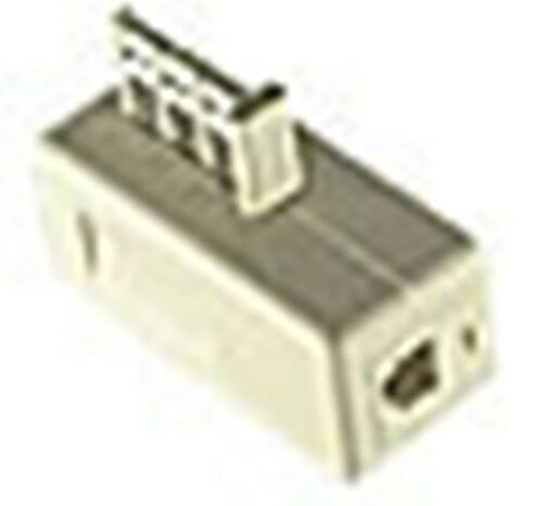 USA Phone Modem Plug RJ11 to France F-010 Jack Adapter