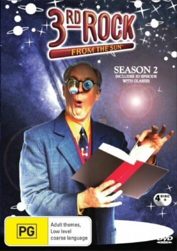 1 of 1 - 3rd Rock From The Sun : Season 2 (DVD, 2005, 3-Disc Set) NEW SEALED