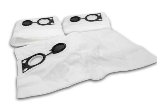 10 Sacs à poussière micro étoffe pour Starmix IS ARD-1425 EWSR,ARD-1425 EWS