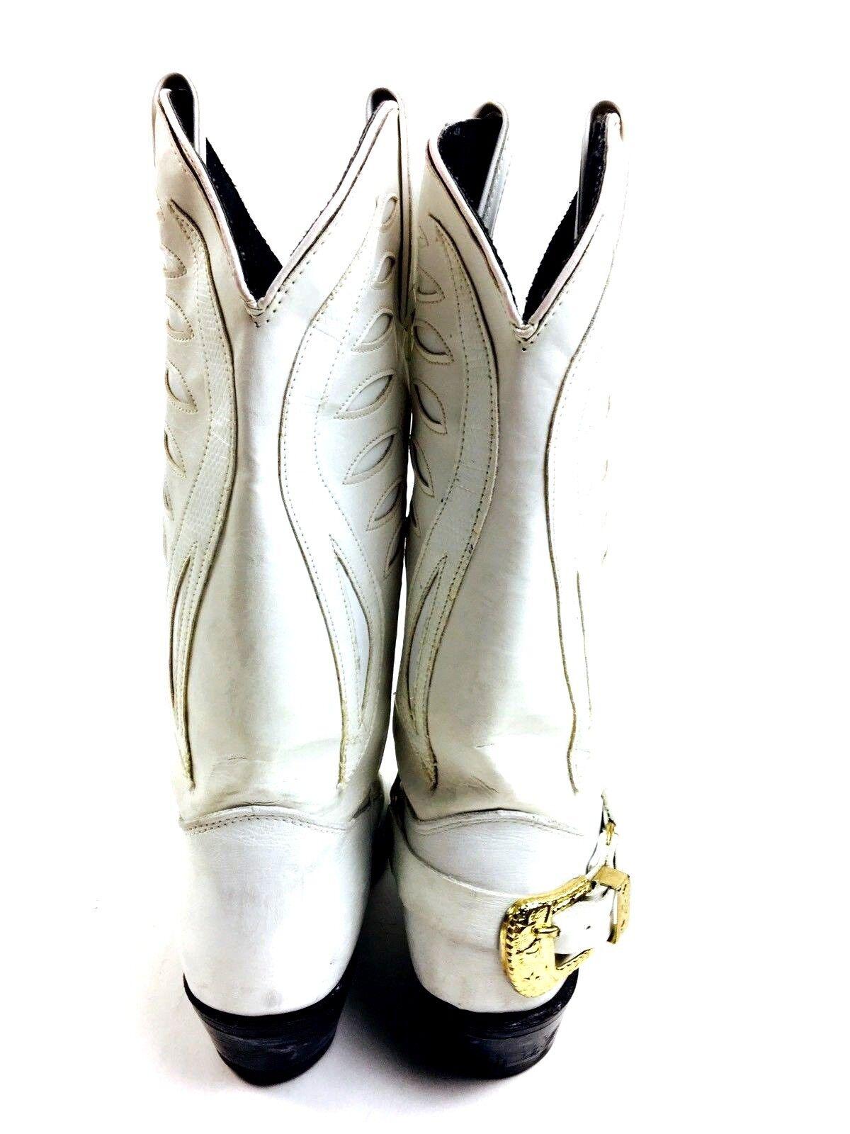 White Cowboy Boots Women's Shoes Women's Boots He… - image 6