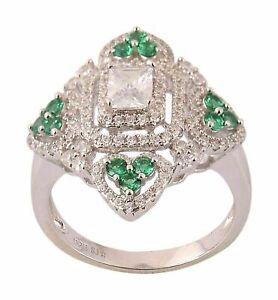 925-Sterling-Silver-Certified-Handmade-5-Carat-Emerald-Gemstone-Engagment-Ring