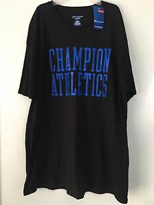 7861ae11 NWT CHAMPION AUTHENTIC MEN'S BIG & TALL T-SHIRT BLACK COLOR SIZE 2XL ...