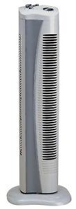 Véritable Prem-i-air Gris Portable Qui Se Tient Ventilateur Tour De L'air Froid Avec Minuteur H39-afficher Le Titre D'origine