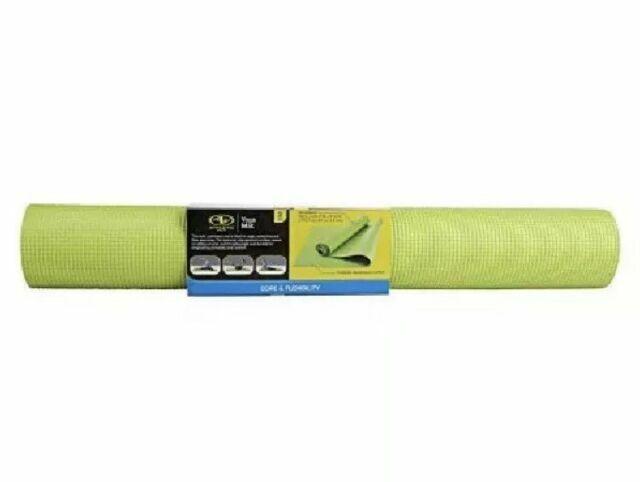 Athletic Works Yoga Mat Lime Green 3mm For Sale Online Ebay