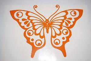 Bumper-Vinyl-Sticker-car-Motorbike-decal-window-art-outdoor-wildlife-Butterfly