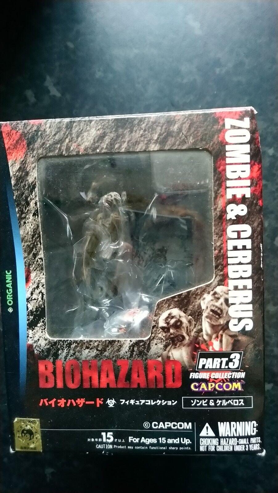 Resident Evil Biohazard Zombie et Cerberus Organic 3 Coffret Action Figure Model