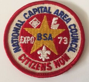 National-Capital-Area-Bsa-1973-Expo-Citizens-Now-Patch-Boy-Scouts