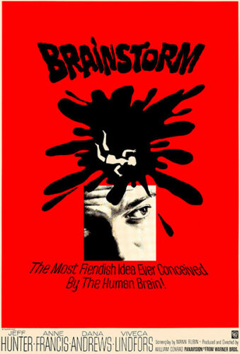 1965 Brainstorm Movie Poster