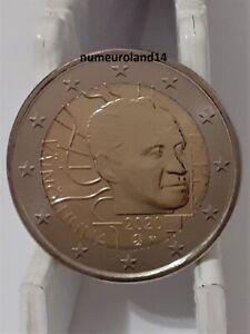 DISPO 2 euro FINLANDE 2020 Commémo Vaino Linna. NEUVE. Envoi en suivi.