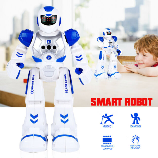 Smart RC Walking Robot Gesture Remote Control RC Toys Educational Gift for  Kids