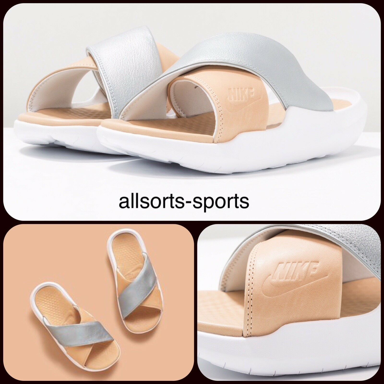 Nike Benassi futuro CROCE se se se Premium Donna  diapositive EU 40.5 AO2641-001 21049f