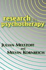 Research in Psychotherapy by Julian Meltzoff, Melvin Kornreich (Paperback, 2008)