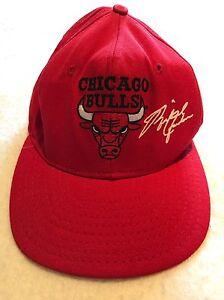 SUPER RARE Vintage 1990 Chicago Bulls Michael Jordan Cap NBA Hat air ... 1ee9e83c1