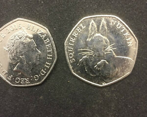 BEATRIX POTTER SQUIREL NUTKIN 50p very collectable LTD MINTING - southampton, Hampshire, United Kingdom - BEATRIX POTTER SQUIREL NUTKIN 50p very collectable LTD MINTING - southampton, Hampshire, United Kingdom