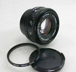 Ricoh-Rikenon-P-50mm-F1-7-Manual-Focus-Standard-Lens-Pentax-PK-Fit-No-A47877