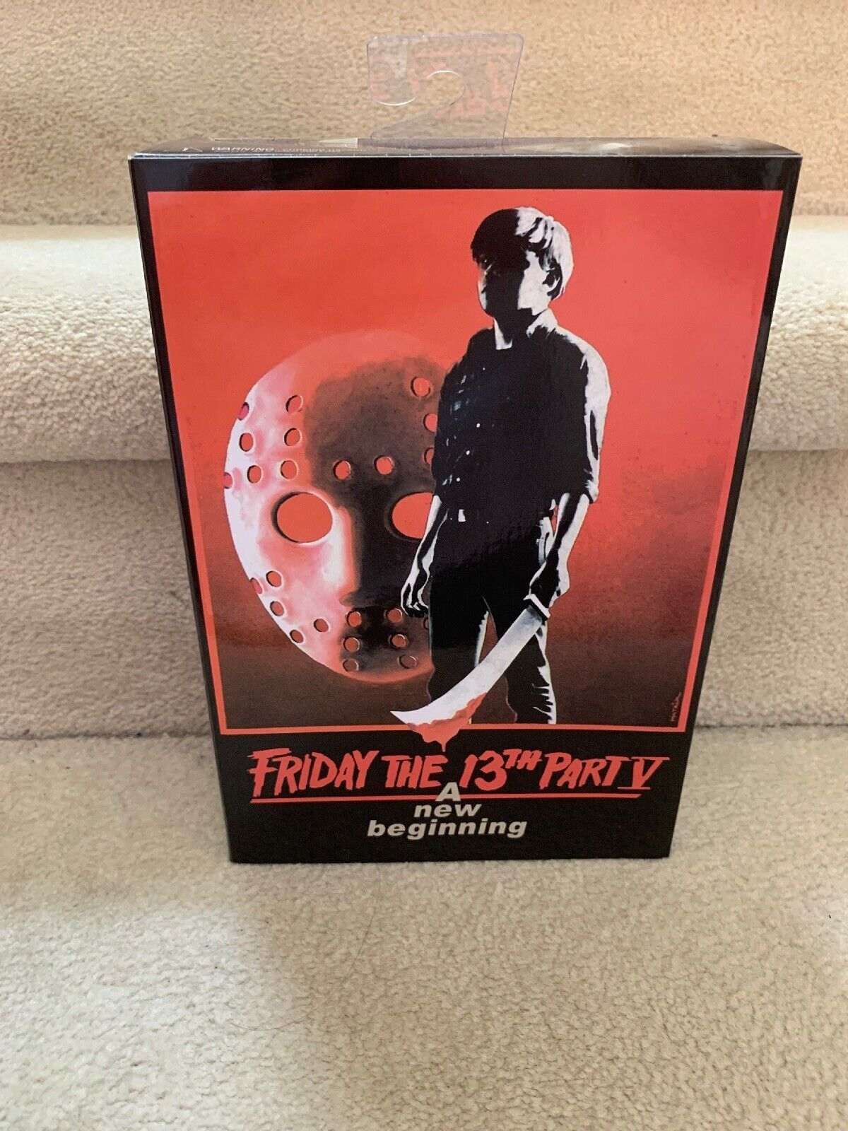 Neca Friday the 13th Ultimate Part 5 V Jason Voorhees 7 Scale azione cifra MIB