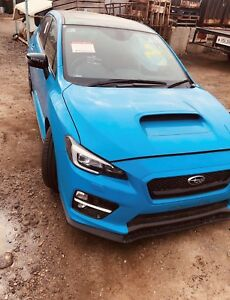 Subaru Wrx Parts >> Details About 2017 Subaru Wrx In Blue Wrecking For Parts Lots Of Parts Available