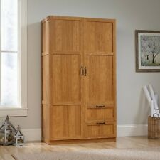 Armoire Wardrobe Closet Bedroom Storage Cabinet Wood Furniture Clothes  Organizer
