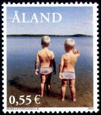Aland 2003 My Aland Ii Holidays Commemorative Stamp Mnh Superior (In) Quality