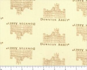 Andover-Downton-Abbey-Print-100-Cotton-Quilting-Fabric-Patt-7618-Lord-amp-Lady