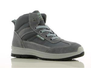 site réputé 1df52 00c6f Détails sur Chaussure de sécurité femme montante Botanic S1P SRC Safety  Jogger