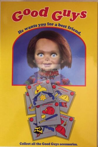"""Ultimate CHUCKY /""""GOOD GUYS/"""" NECA Childs Play Partie I 2017 3/"""" Inch Action Figure"""