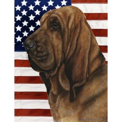 Patriotic Garden Flag D2 Bloodhound 320731