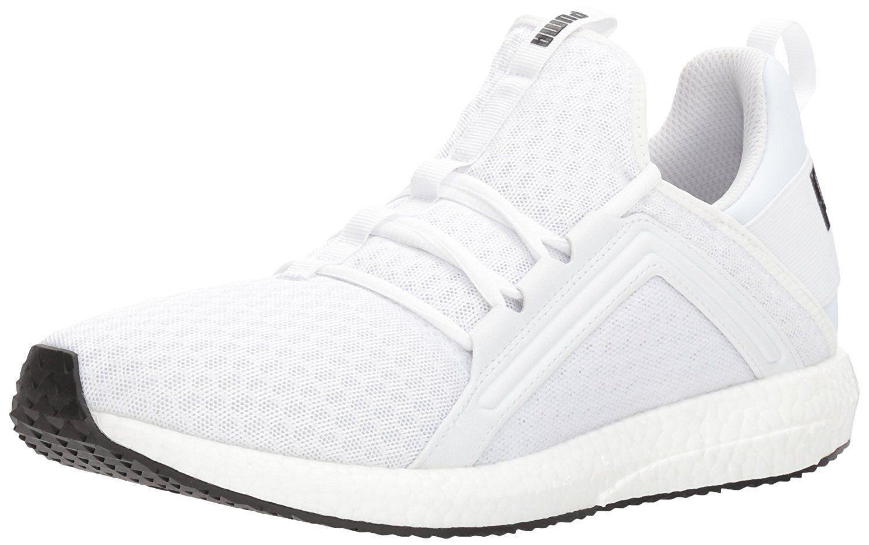 PUMA Homme Mega Nrgy Sneaker, Blanc Noir