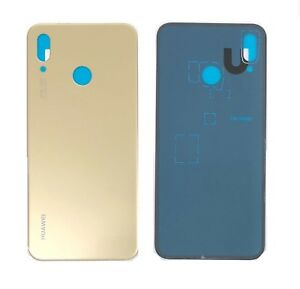 new photos 98768 67d13 Details about For Huawei P20 Lite Back Battery Cover Glass Plate Housing  Replacement New Gold