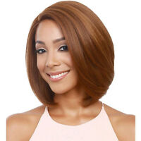 Fashion Ladies Short Wig Brown Natural Hair Bob Style Party Full Wigs Costume