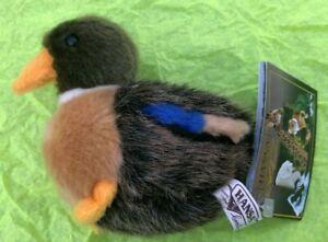 4-Inch-Handcrafted-Mallard-Duck-Plush-Stuffed-Animal-by-Hansa
