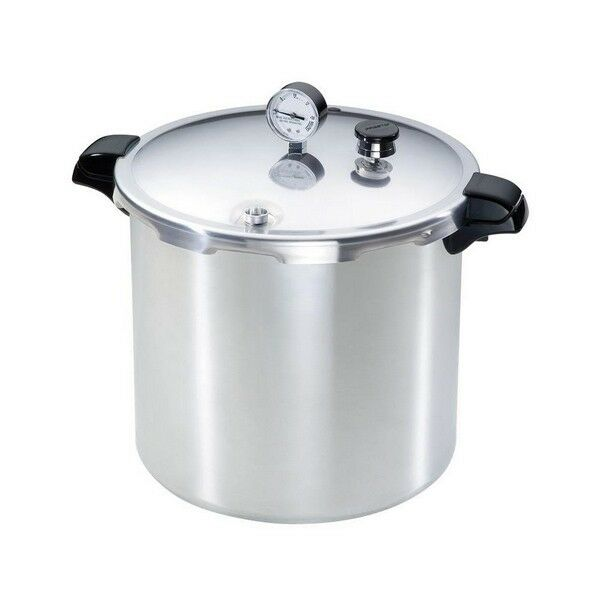 23 Quart Aluminum Pressure Cooker Canning Pot Canner Fast Cooking Kitchen Home